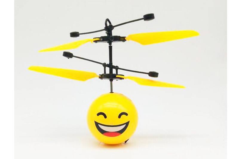 Laughing Expression Sensing Flying Ball No.TA250304