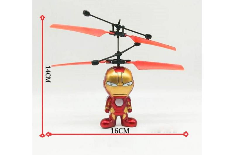 Iron Man cartoon induction aircraft (without remote control) No.TA250306