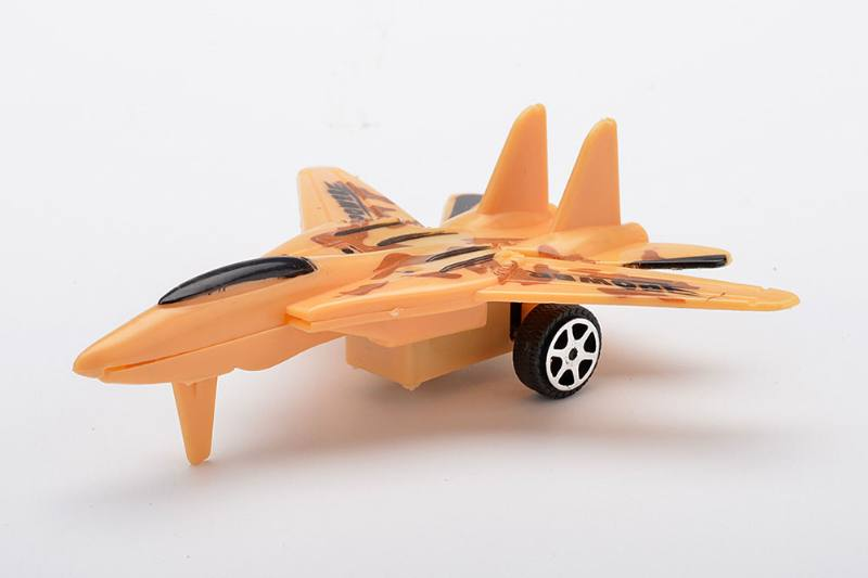 Real color pull back aircraft toy No.TA233927