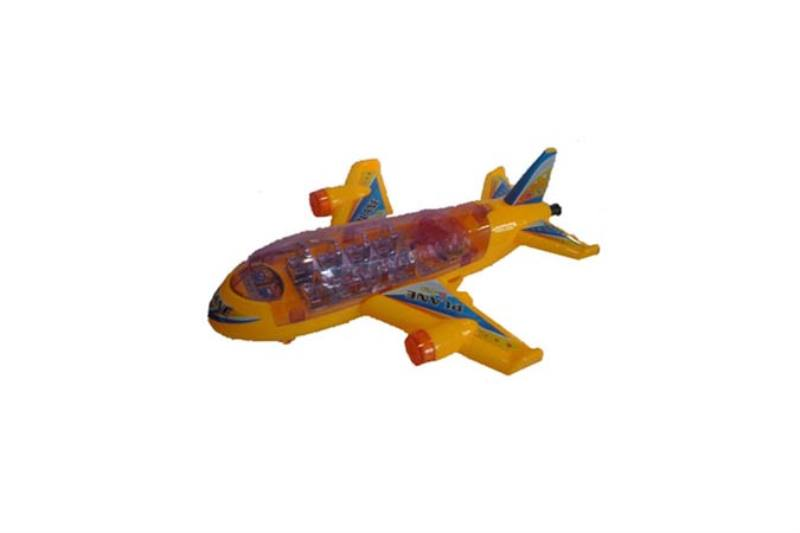 Pull line cartoon toy Pull line plane with lights No.TA236764