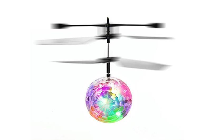 Induction UFO Aircraft Toy Crystal Ball Monochrome No.TA252028