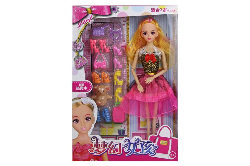 Barbie Toys 9 Joint 11.5
