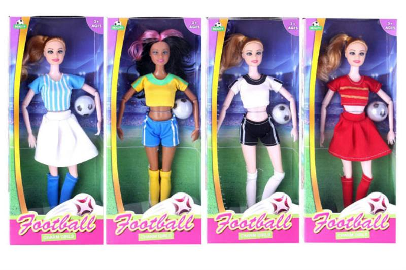 Barbie Toys Joint Football Baby Four Mixed No.TA253509