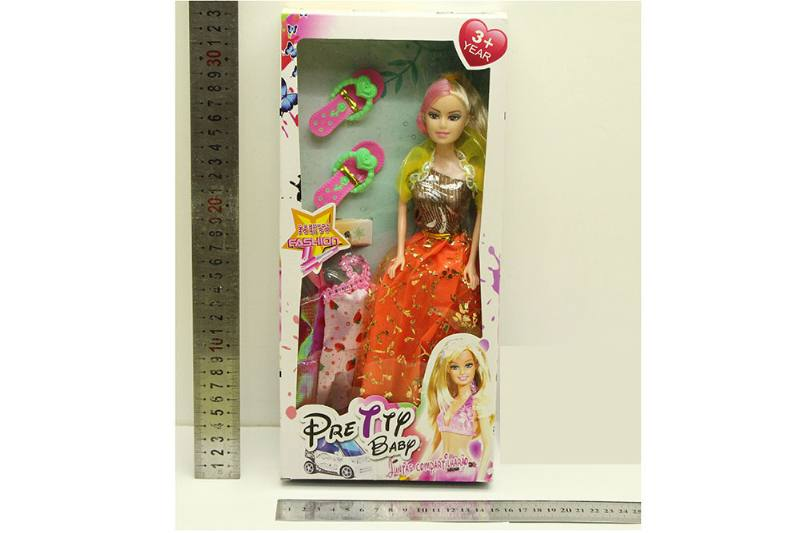 Barbie Doll toys with clothes dress accessories No.TA254413