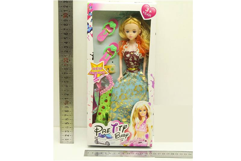 Barbie Doll toys with clothes dress accessories No.TA254414
