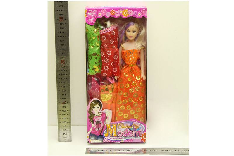 Barbie Doll toys with clothes dress accessories No.TA254415