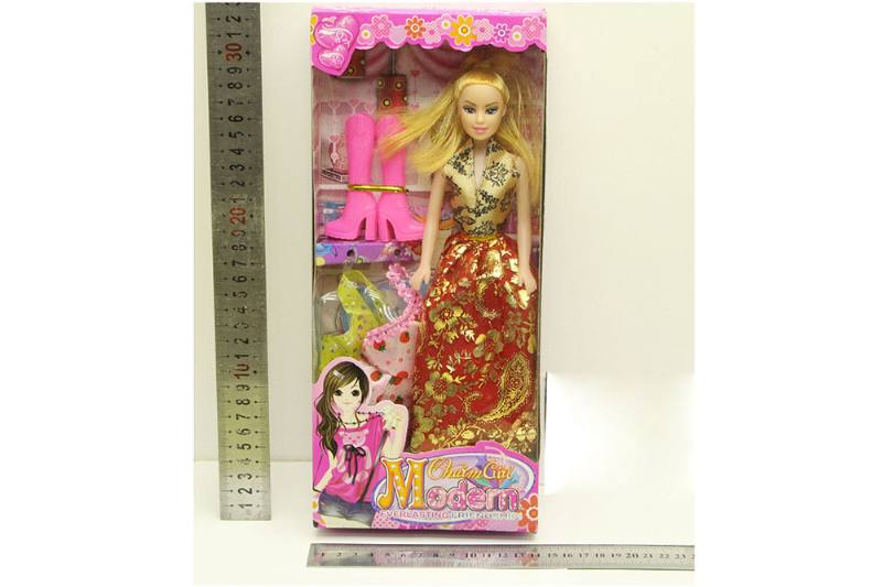 Barbie Doll toys with clothes dress accessories No.TA254416