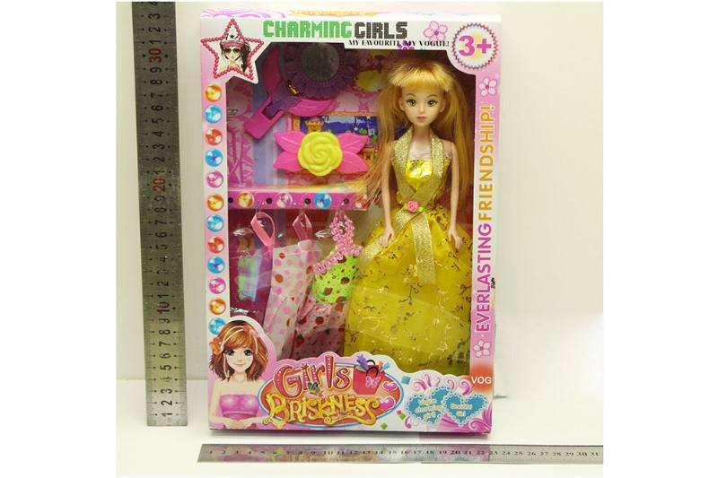 Barbie Doll toys with clothes dress accessories No.TA254420