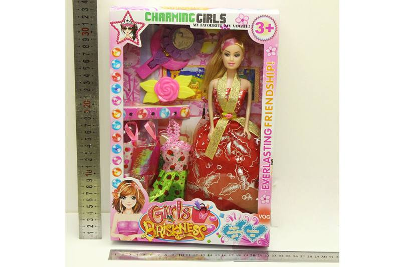 Barbie Doll toys with clothes dress accessories No.TA254421
