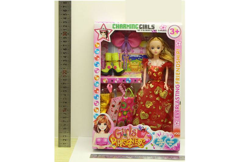 Barbie Doll toys with clothes dress accessories No.TA254422