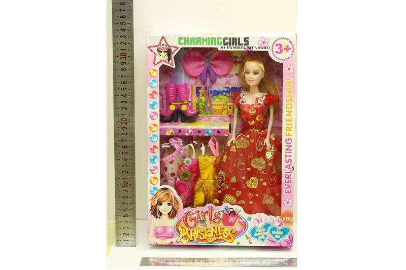 Barbie Doll toys with clothes dress accessories No.TA254423