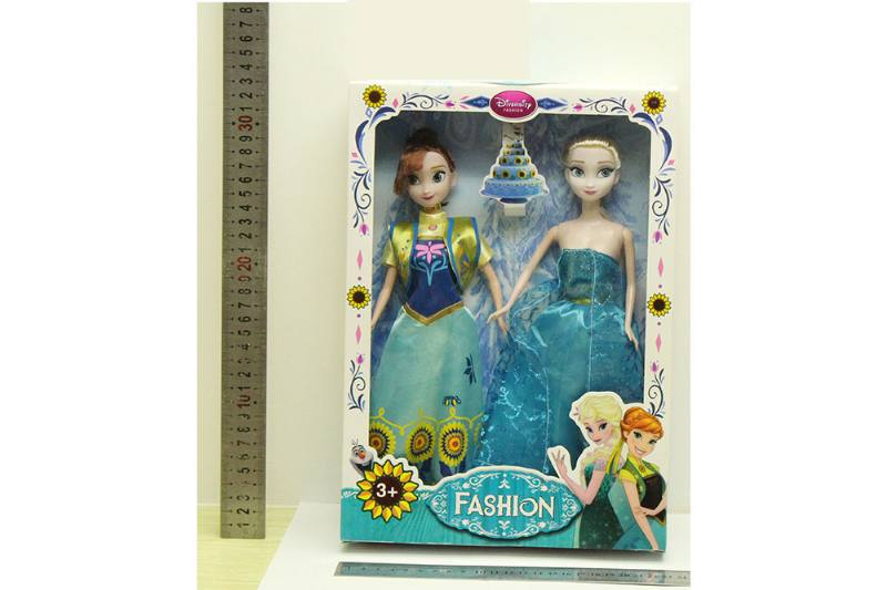 Barbie Doll toys Snow Princess with clothes dress No.TA254430