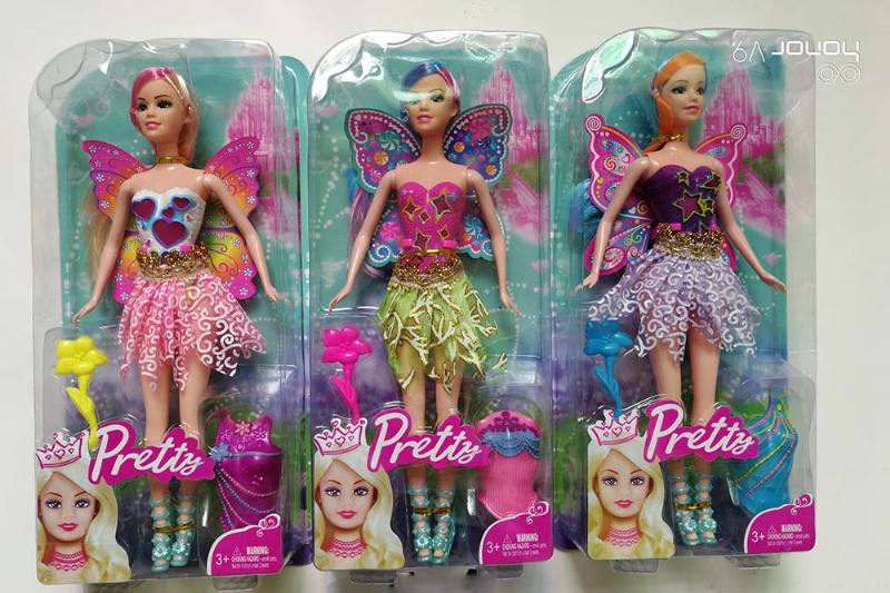 11 inch Flower Fairy Barbie doll toys with lightsNo.TA256707