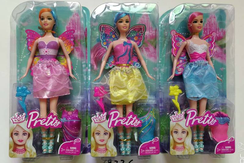 11 inch Flower Fairy Barbie doll toysNo.TA256708