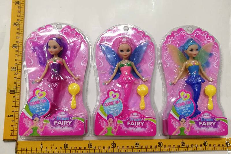 8 inch Mermaid Barbie doll toys with lights No.TA256756