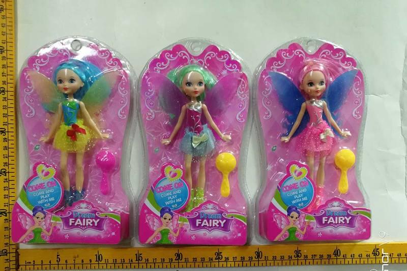 8 inch Flower Fairy Barbie doll toysNo.TA256759