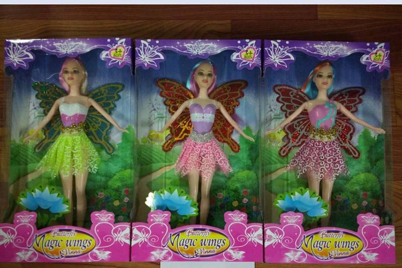 11.5 inch Flower Fairy Barbie doll toysNo.TA256766