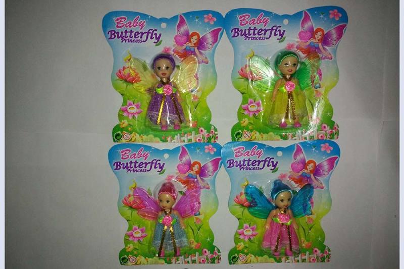 3.5 inch Flower Fairy Barbie doll toysNo.TA256768