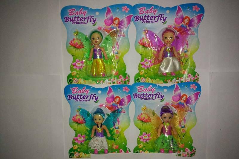 3.5 inch Flower Fairy Barbie doll toysNo.TA256774