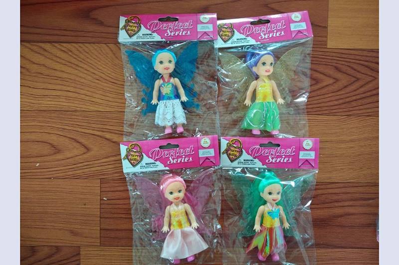 3.5 inch Flower Fairy Barbie doll toysNo.TA256775