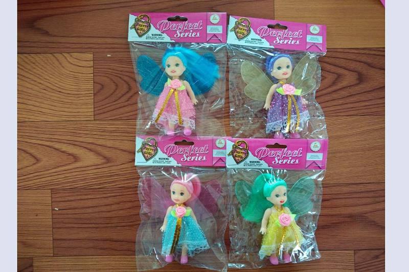 3.5 inch Flower Fairy Barbie doll toysNo.TA256776