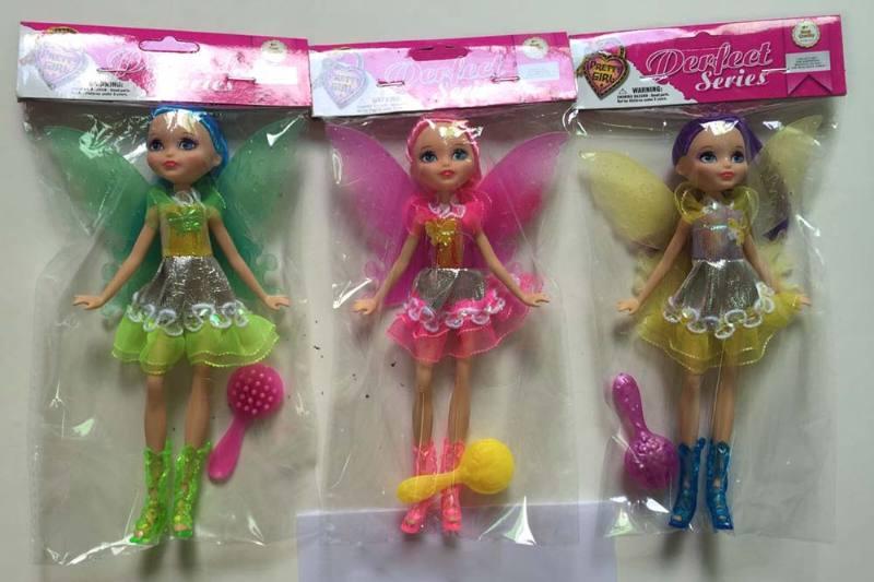 8 inch Flower Fairy Barbie doll toysNo.TA256783