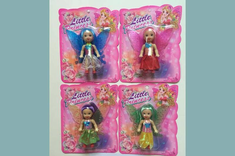 3.5 inch Flower Fairy Barbie doll toysNo.TA256789