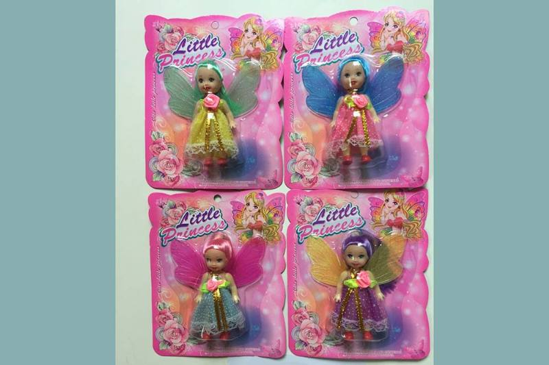 3.5 inch Flower Fairy Barbie doll toysNo.TA256790