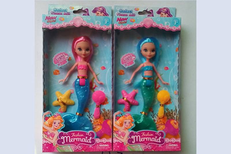 8 inch Mermaid Barbie doll toys with lights No.TA256794