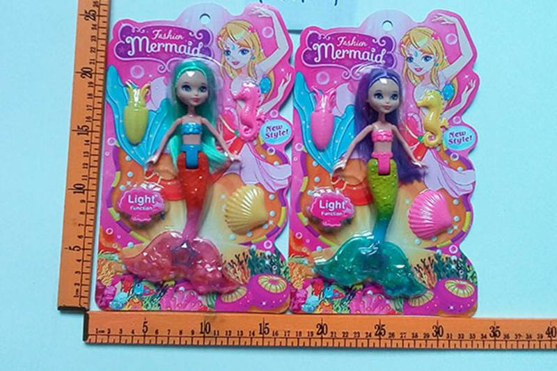 8 inch Mermaid Barbie doll toys with lights No.TA256812