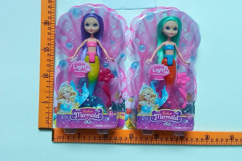 8 inch Mermaid Barbie doll toys with lights No.TA256813