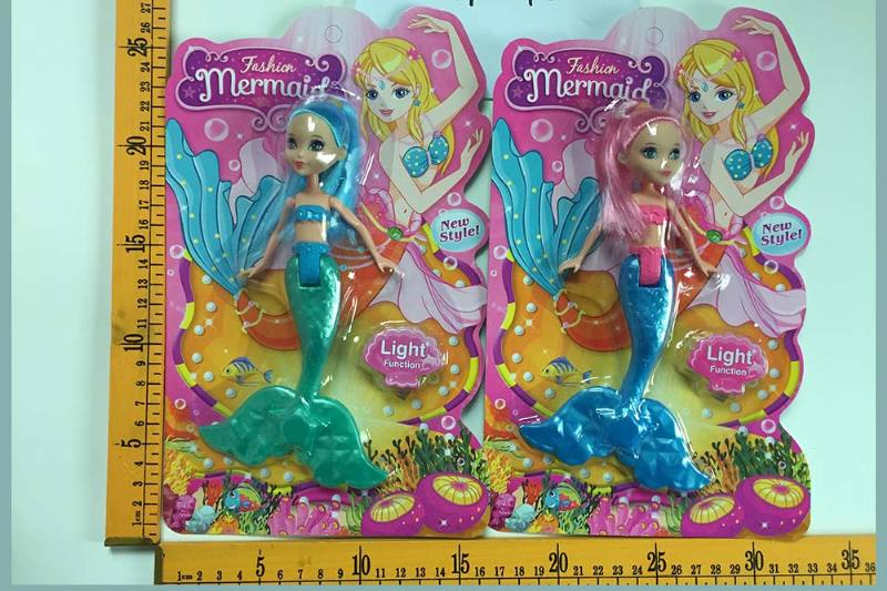 8 inch Mermaid Barbie doll toys with lights No.TA256814