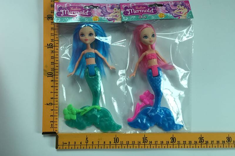 8 inch Mermaid Barbie doll toys with lights No.TA256817