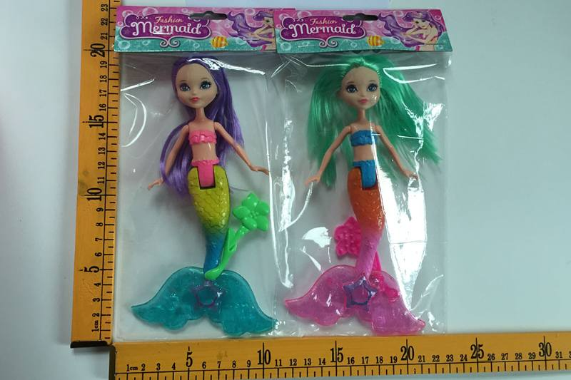 8 inch Mermaid Barbie doll toys with lights No.TA256818
