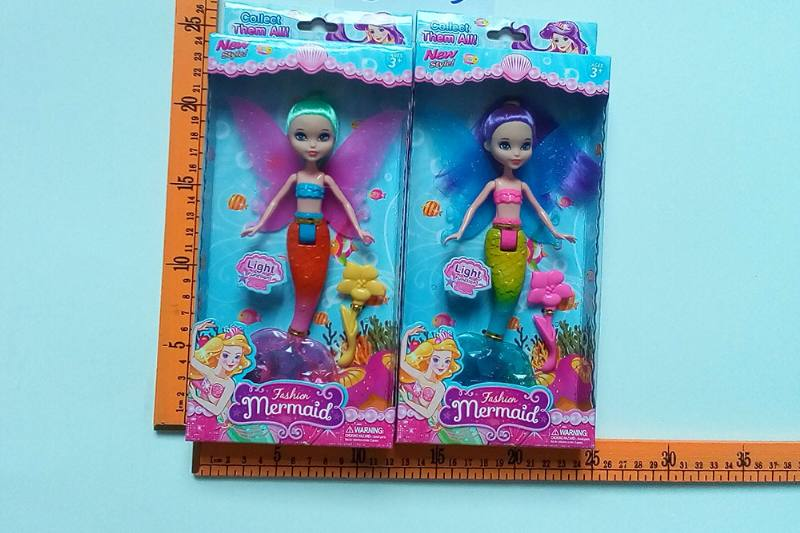 8 inch Mermaid Barbie doll toys with lights No.TA256820