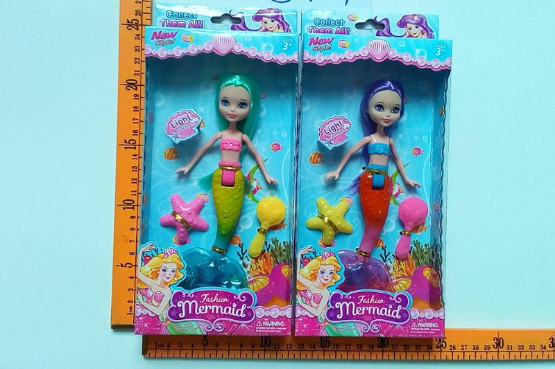 8 inch Mermaid Barbie doll toys with lights No.TA256821
