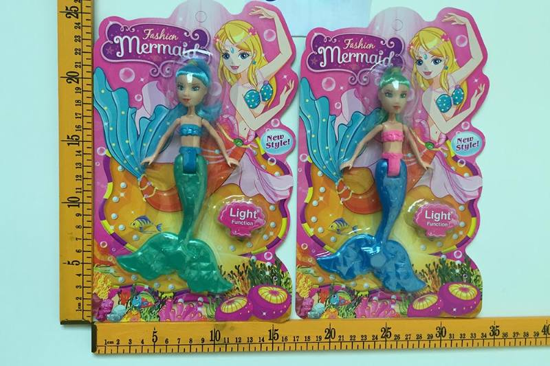 8 inch Mermaid Barbie doll toys with lights No.TA256824