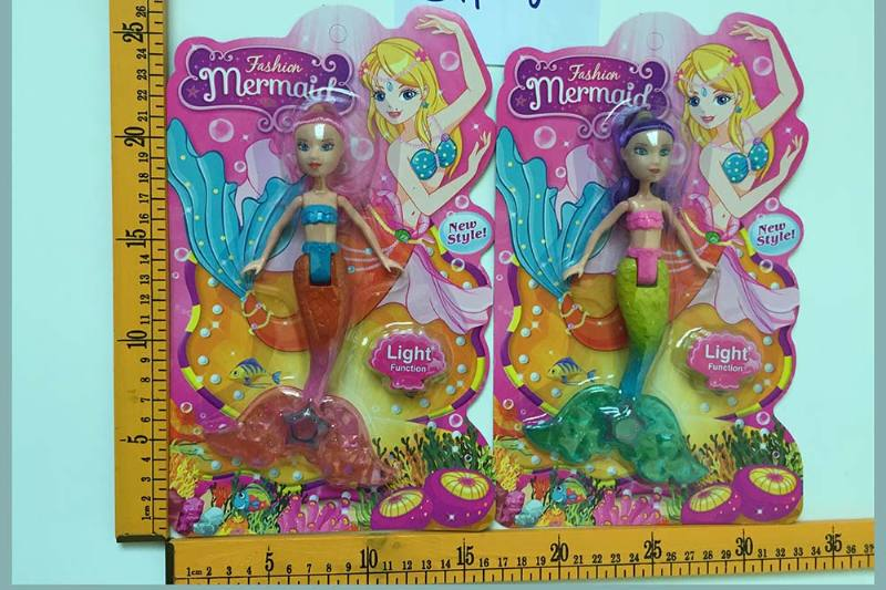 8 inch Mermaid Barbie doll toys with lights No.TA256825