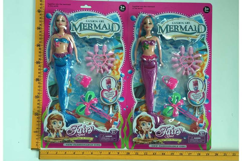 12 inch Mermaid Barbie doll toys with lights No.TA256831