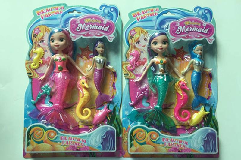 9 inch Mermaid Barbie doll toys with lights No.TA256869