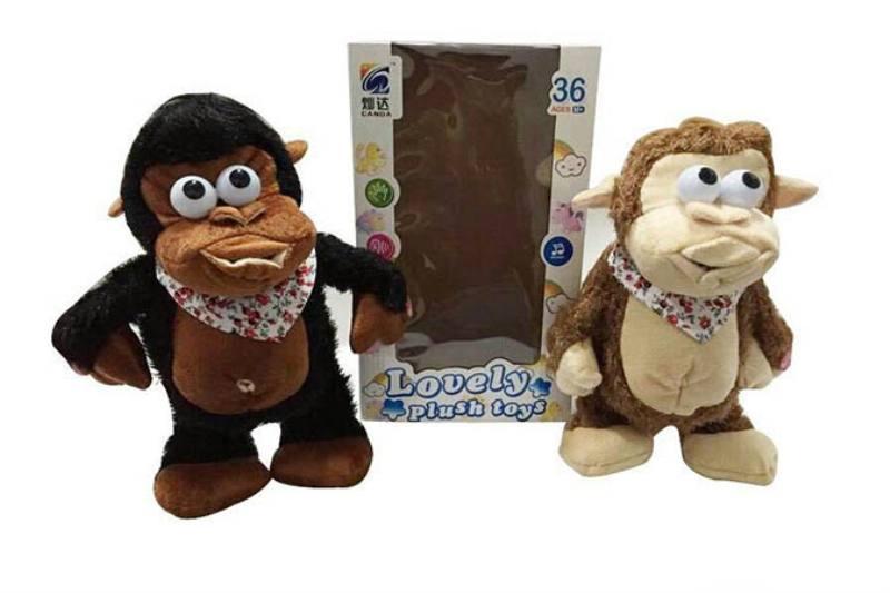 Plush Stuffed Dolls Toys Electric Music Crazy Monkey No.TA199956