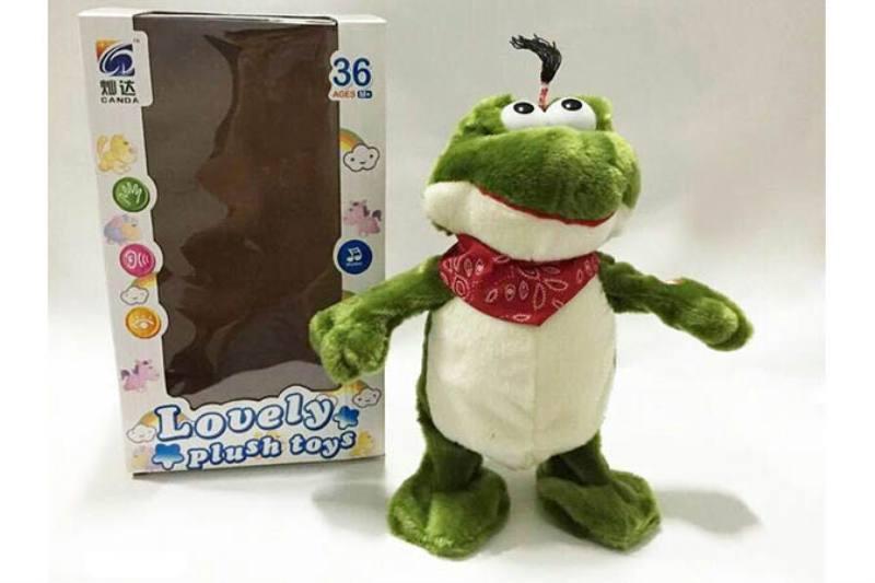 Plush Stuffed Dolls Toys Electric Music Crazy Frog No.TA199957