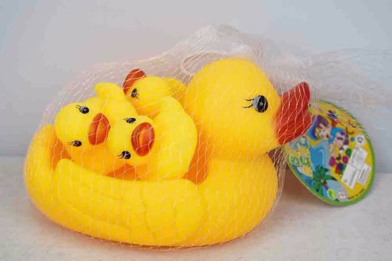 Silicone Toys Silicone Large Mother Duck No.TA253423