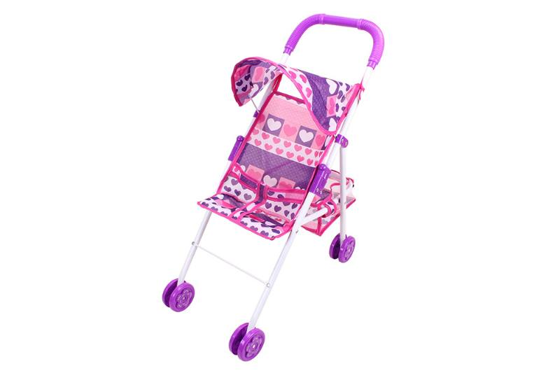 Barbie Doll Accessories Toys Baby Shade Trolley (Pink Purple Cloth) No.TA229042