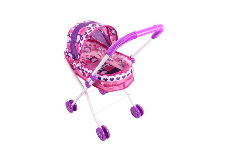Barbie Doll Accessories Toys Baby Shade Trolley (Pink Purple Cloth) No.TA229043