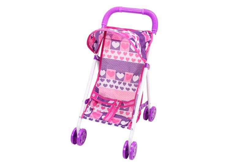 Barbie Doll Accessories Toys Baby Shade Trolley (Pink Purple Cloth) No.TA229044