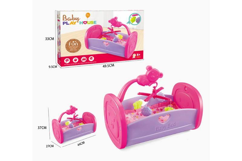 Barbie Doll Accessories Toys Cradle Crib No.TA229050