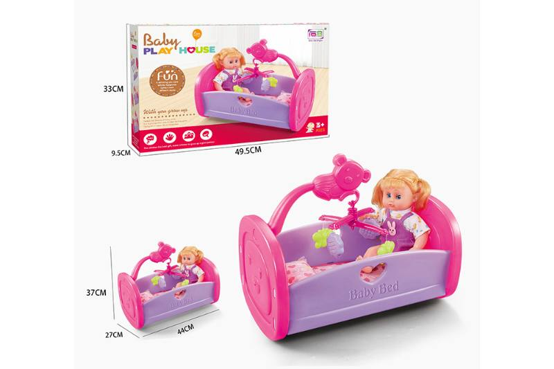 Barbie Doll Accessories Toys Cradle Crib 14 inch IC doll No.TA229051
