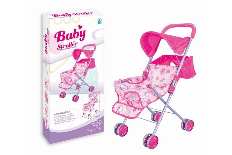 Barbie Doll Accessories Toys Baby Shade Cart (White Iron) No.TA233392