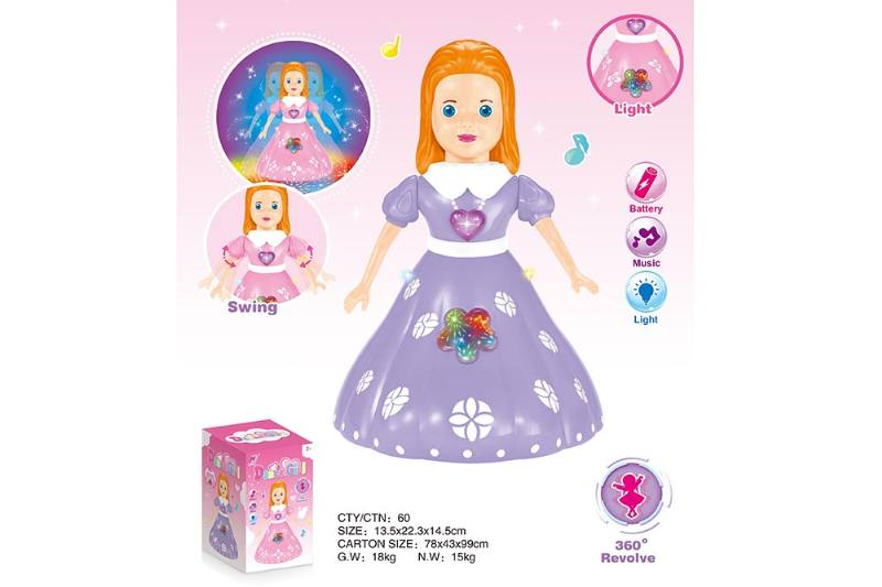Barbie Doll Toys Electric Dancing Princess Color Mix No.TA234406